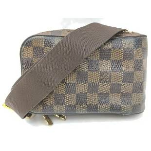 Louis Vuitton Damier Ebene Bumbag Waist Pouch Fanny