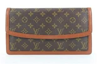 Louis Vuitton Monogram Dame GM Envelope Clutch