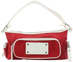 Burberry London Red Shoulder Bag