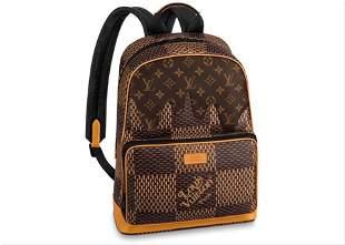 Louis Vuitton Damier Ebene Geant Nigo Campus Backpack