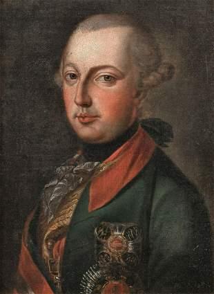 Portrait of Joseph II Oil Painting