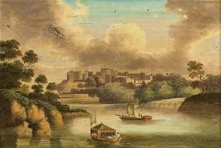 Windsor Castle Oil Painting