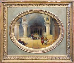 Church of the Holy Sepulchre, Jerusalem Oil Painting