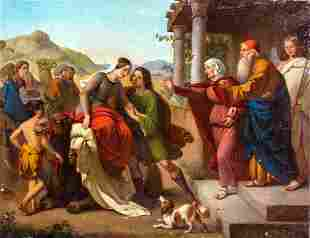 House Of Tobit Oil Painting