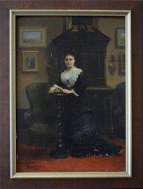 Mrs. Guinouard in Her Private Lounge
