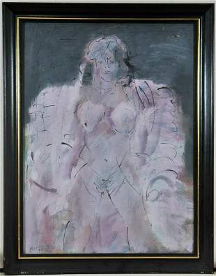 Portrait of A Naked lady Oil Painting