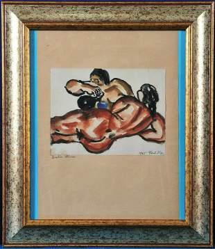 Barbar Venus Oil Painting
