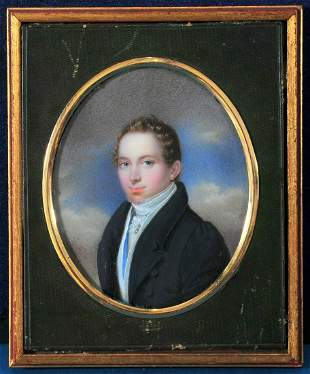 Portrait of Johann Christoph Daumer Oil Painting