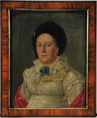 Portrait of a lady and his husband, unknown artist