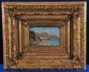 Ocean Beach Oil Painting