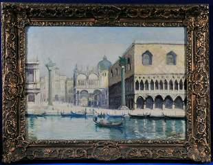 View of Venice Oil Painting