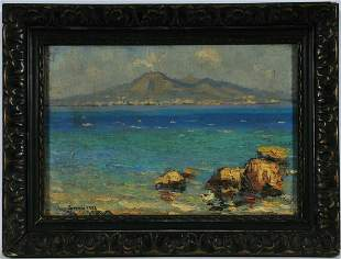 Painting of Sorrento Italy Oil Painting