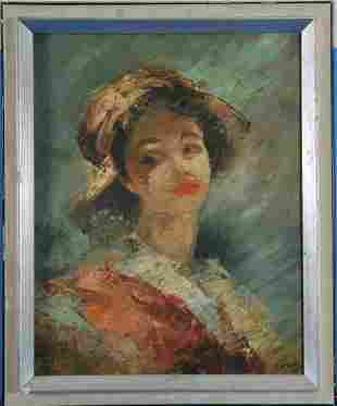 Portrait of A Young Girl Oil Painting