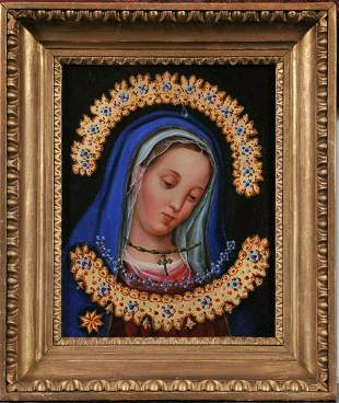 Portrait of A Madonna Oil Painting