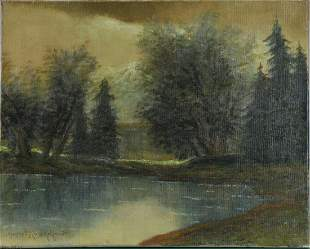 Tatra Mountains Oil Painting