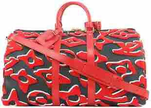 Louis Vuitton LVxUF Urs Fischer Red X Black Monogram