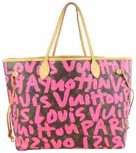 Louis Vuitton Stephen Sprouse Pink Graffiti Monogram