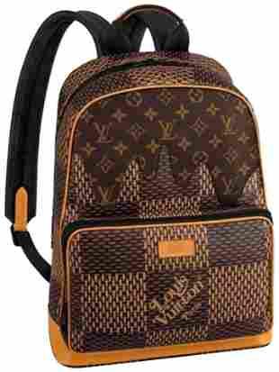 Louis Vuitton Damier Ebene Nigo Campus Backpack Rare