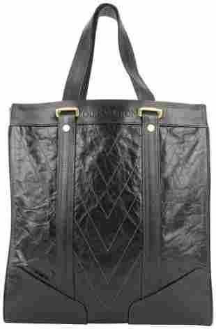 Louis Vuitton Dark Brown Soana Leather Gaston V Runway