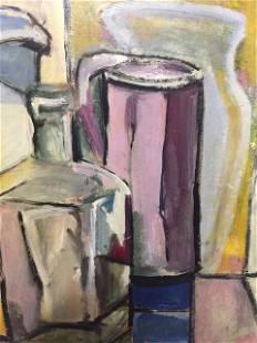 """Cubist Still Life"" Oil Painting"