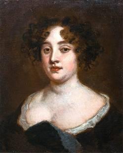 Portrait of Lady Francklin Oil Painting