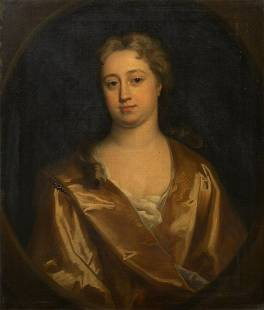Portrait Elizabeth Banks Oil Painting