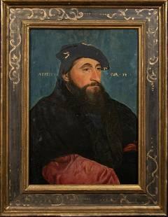 Portrait Of Antoine Le Bon Oil Painting