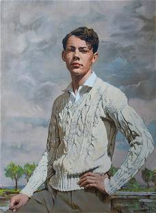 Portrait Of John Davison Oil Painting