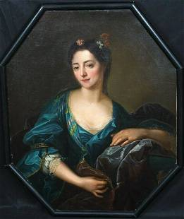 Countess Marie du Barry Oil Painting