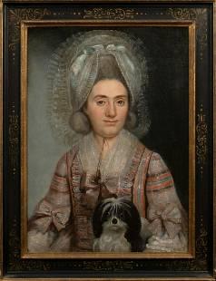 Portrait of Countess De Lalaing Oil Painting