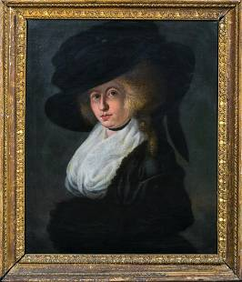 Portrait of Lady Francis Oil Painting