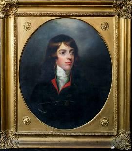 Robert Devereux Fancourt Oil Painting