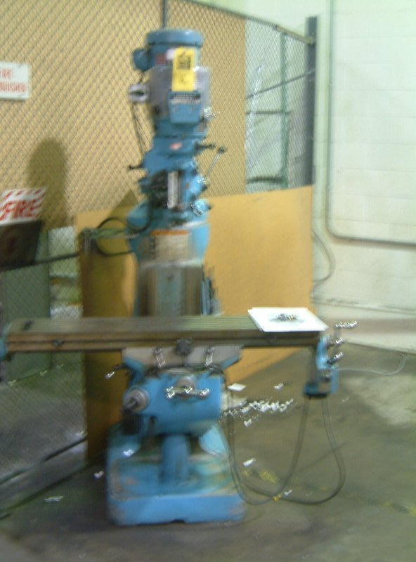 2: Bridgeport Vertical Mill, 2HP 9x42 table, vari-speed - 2