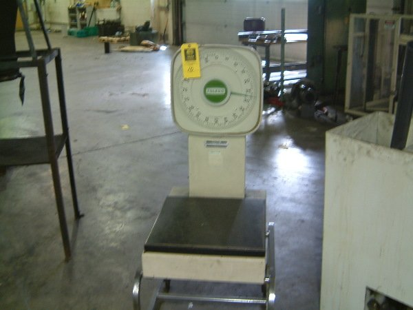 11: Toledo Scale electric floor scale Model 9142
