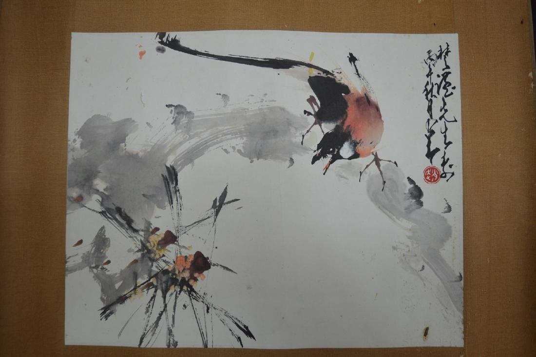 """A """"FLOWER AND BIRD"""" PAINTING"""