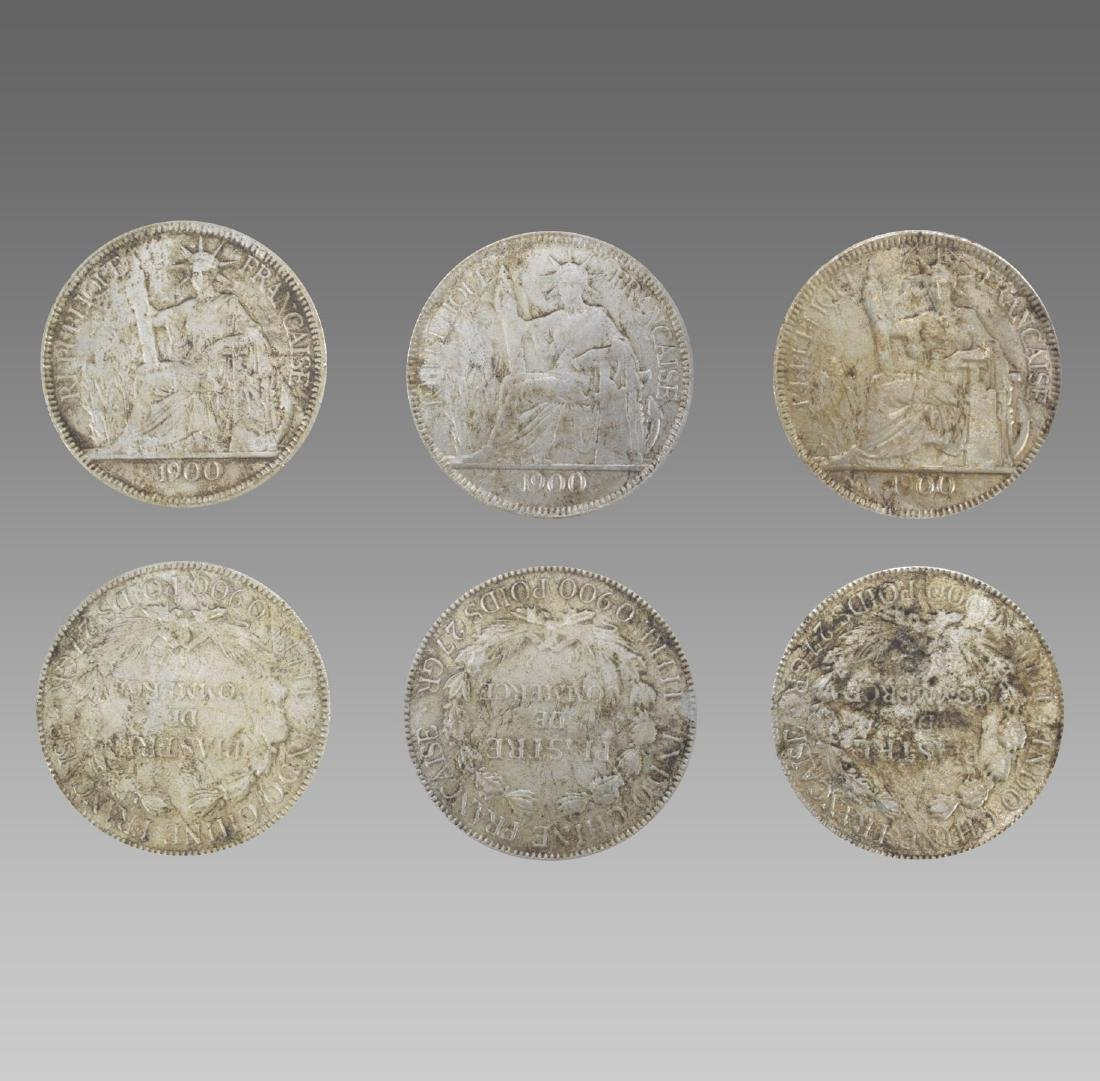 A SET OF OLD CHINESE COINS