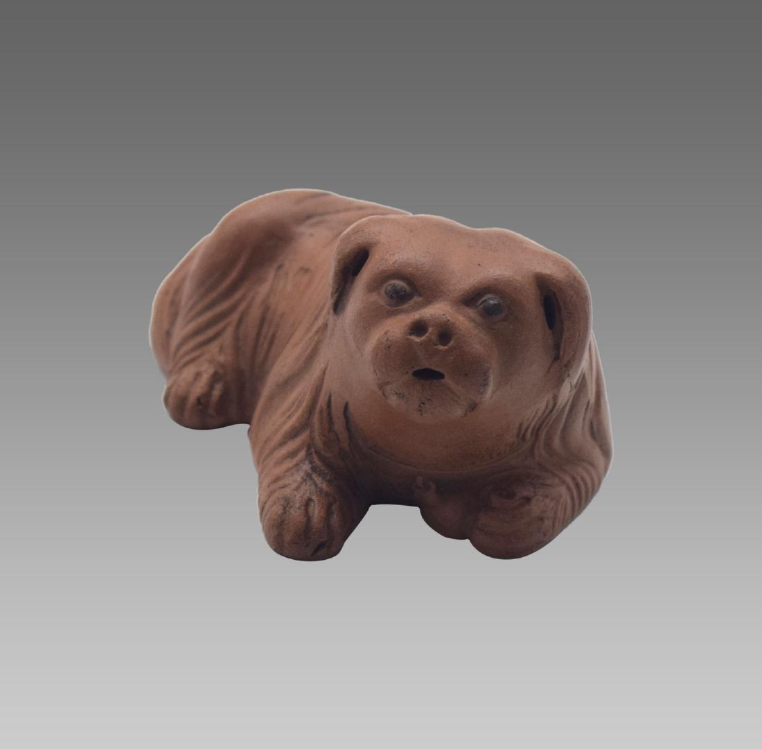 ZISHA POODLE DOG FIGURE