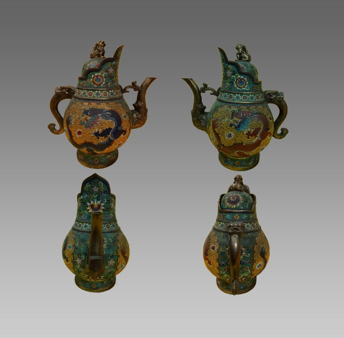CHINESE WINE POT, QIANLONG PERIOD