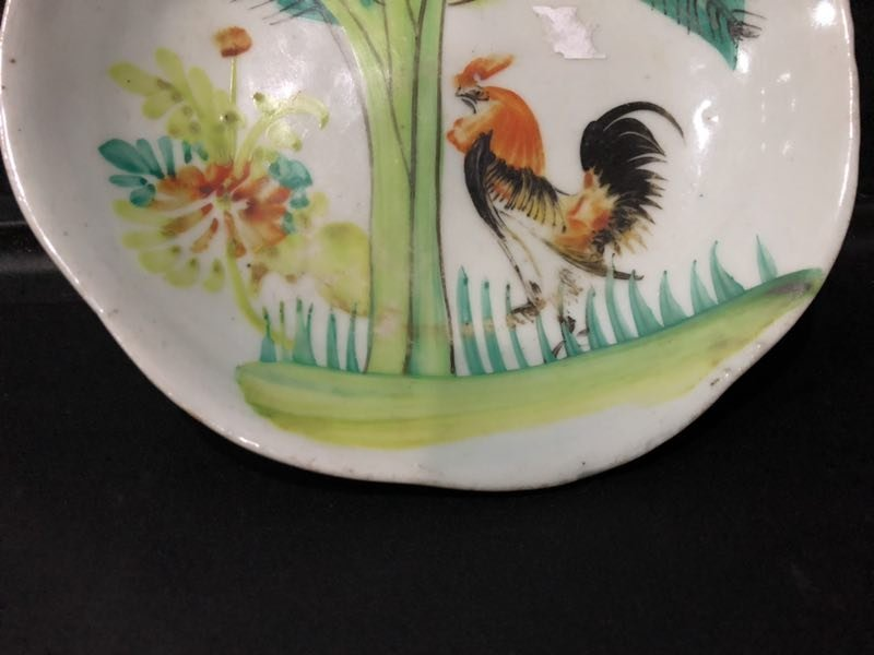 A FAMILLE ROSE PORCELAIN PLATE - 7