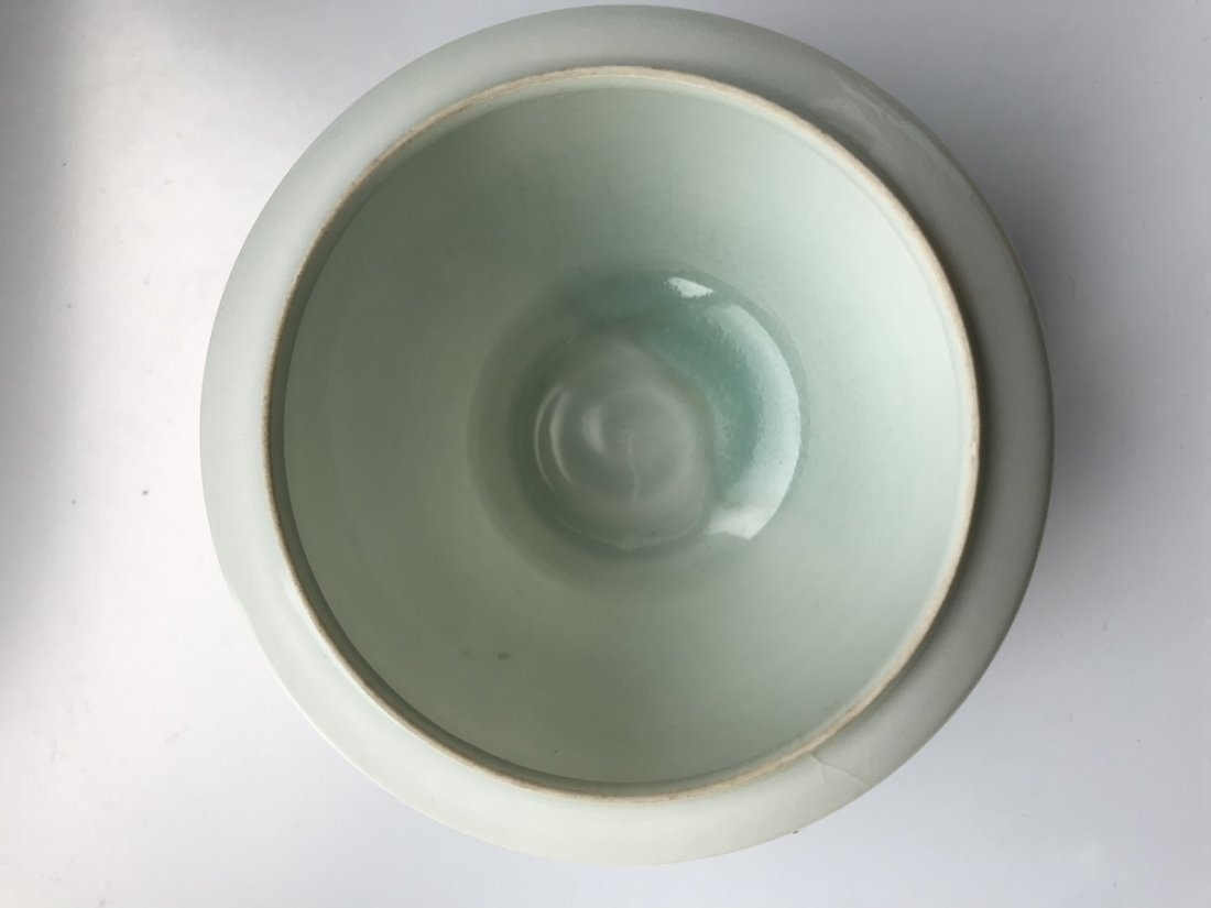 CHINESE BLANC DE CHINE PORCELAIN WATER DROPPER - 7