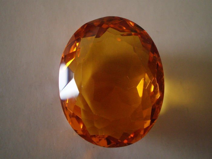 Brazilian natural stone -Citrine 63.6 ct