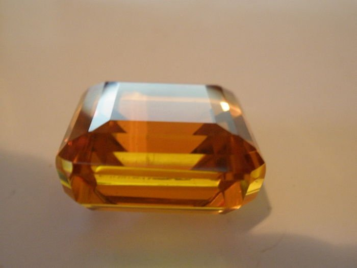 Brazilian natural stone -Citrine 78.30 ct