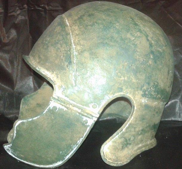Chalcidian helmet, 5th-4th century B.C.