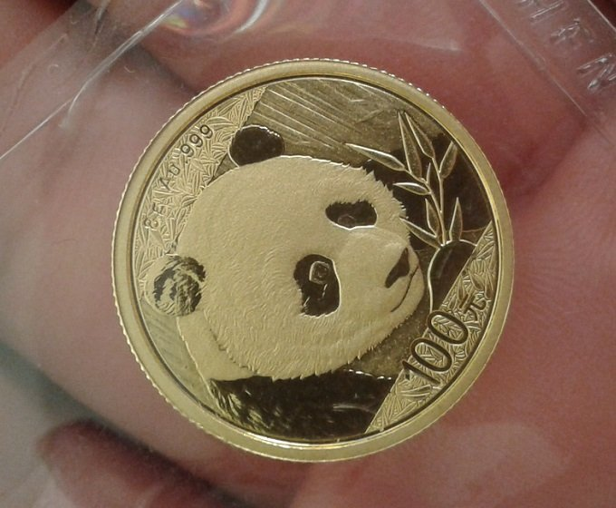 8 Grams Chinese Pure Gold Panda