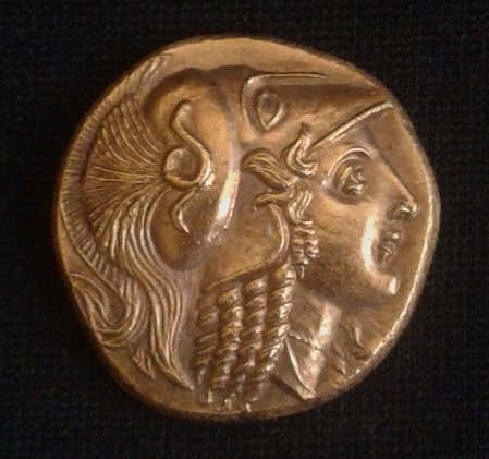 Gold Stater of Alexander III the great 8,61g.