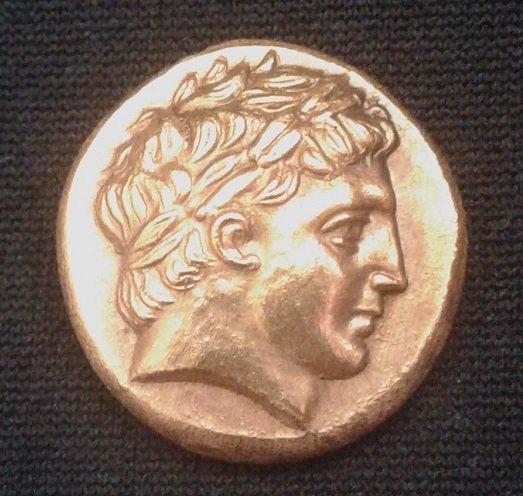 Gold Stater of Philip II Macedon 359-336 BC. 8,50g.