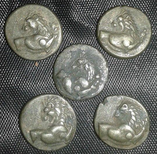 Ancient THRACE, Chersonesos. Circa 386-338 BC. AR