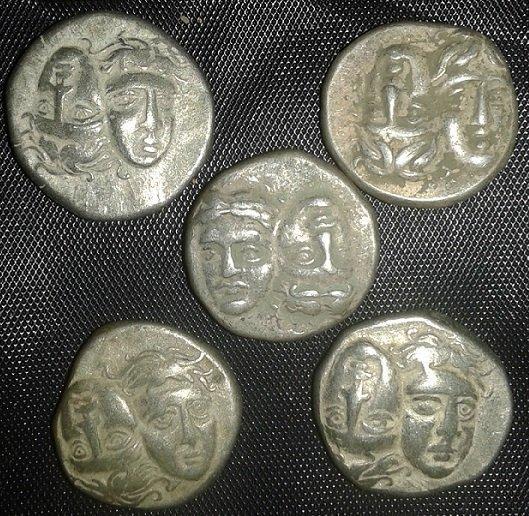MOESIA, Istros. Late 5th-4th centuries BC. AR Drachm