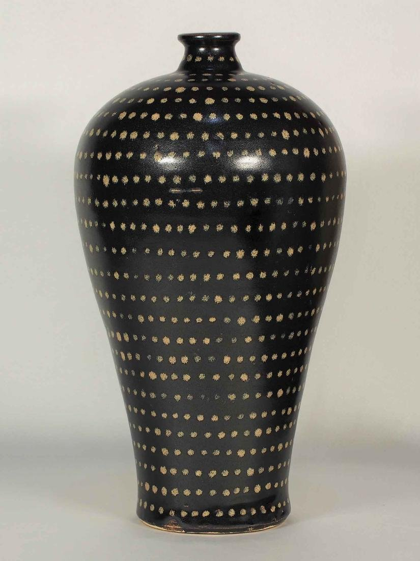 Jizhou Large Meiping with Dotted Design, Song Dynasty - 2