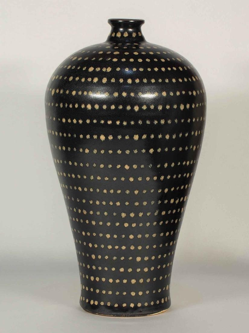 Jizhou Large Meiping with Dotted Design, Song Dynasty - 3
